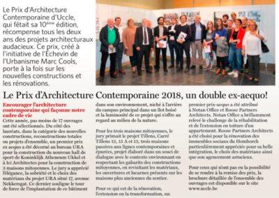 Ici Architectes Prix d'architecture contemporaine 2018