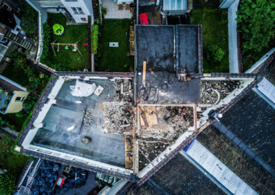 0304_02_ZOLA_belgianarchitecture_workinprogress_chantier_topview_loft_housing_duplex_concrete_demolition