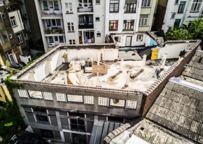 0304_03_ZOLA_belgianarchitecture_workinprogress_chantier_topview_loft_housing_duplex_concrete_demolition