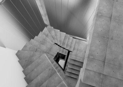 0304_10_ZOLA_belgianarchitecture_workinprogress_chantier_topview_loft_housing_duplex_concrete_rooftop_render_stairs